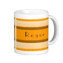 personalized striped mugs