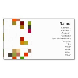 square design business card templates