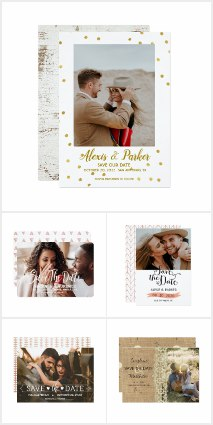 Photo Wedding Cards