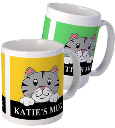 personalized cartoon mugs
