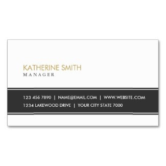 black and white business card templates